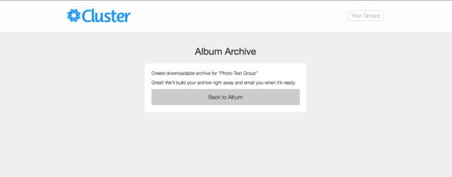 Building the Album Archive